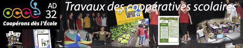 Site internet OCCE du Gers